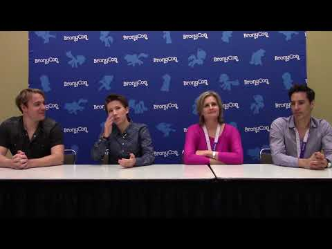 BronyCon 2017 Press Conference - Gabe Brown, Michelle Creeber, Cathy Weseluck, Daniel Ingram