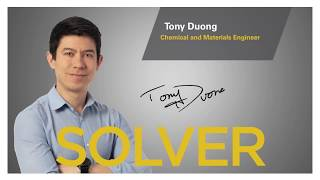Tony Duong works at the interface of life sciences and materials engineering