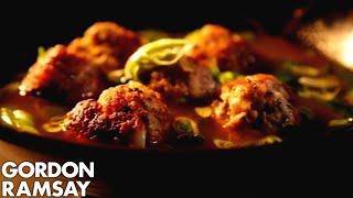 Pork And Prawn Balls In Aromatic Broth - Gordon Ramsay