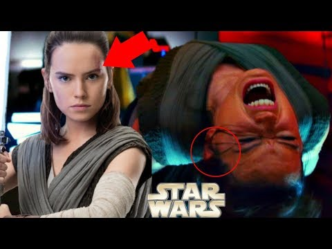 Thumbnail: The Last Jedi MAJOR Snoke and Rey Spoiler Spotted! – Star Wars Explained