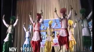 bhangra by G.H.G  khalsa collage gurusar sudhar 2011