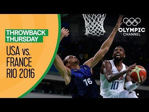 USA vs France - Basketball | Rio 2016 - Condensed Game | Throwback Thursday