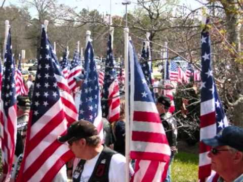 Blue to Gold Tribute Service, Harnett County Veterans Park, Lillington, NC - 19 March 2011