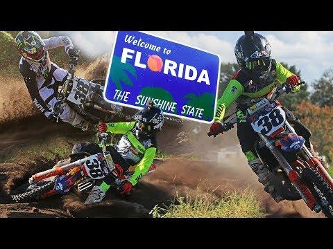 We Made It To Florida! Dangerboy Deegan Rides Sick Sand Track!