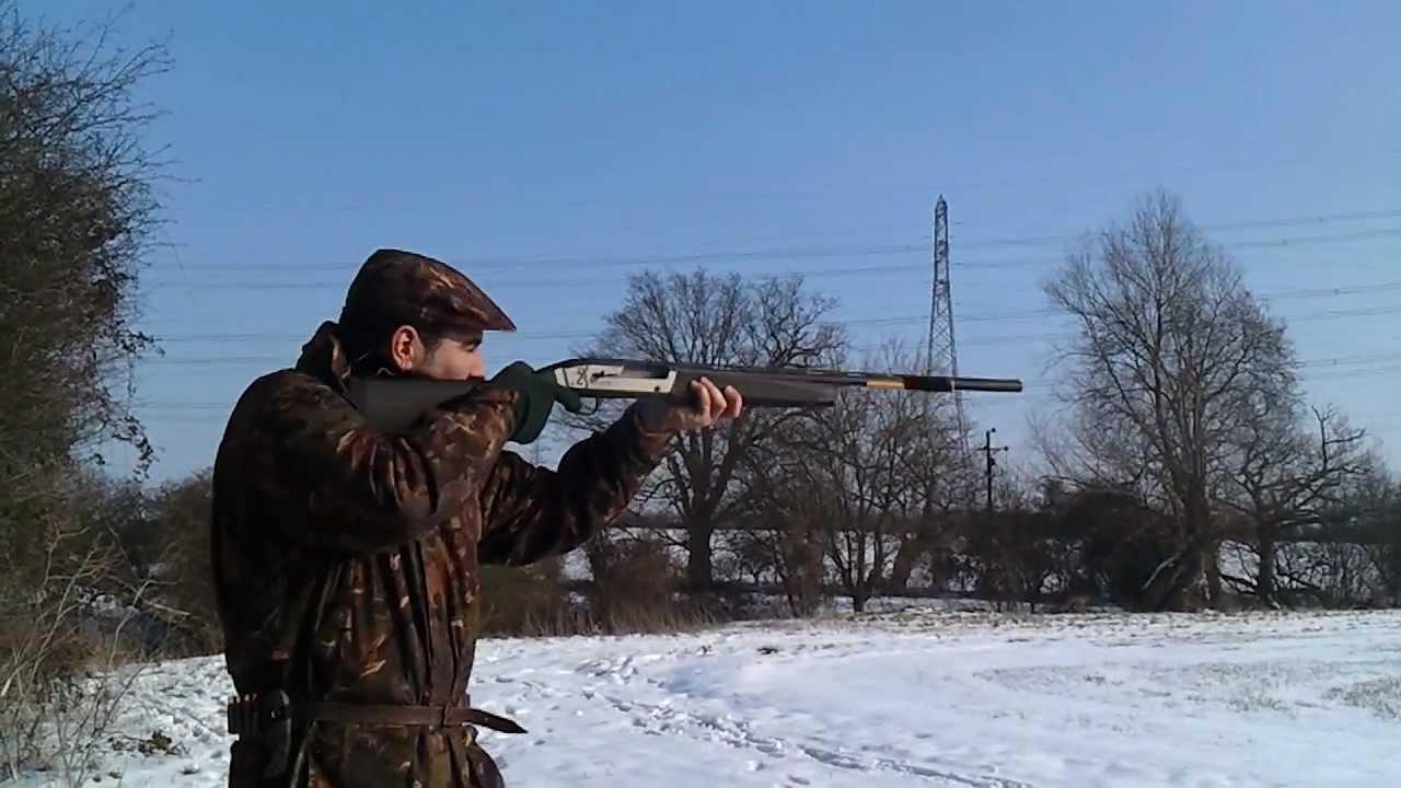 Browning Maxus Carbon Fibre 3 Magnum Shotgun Youtube