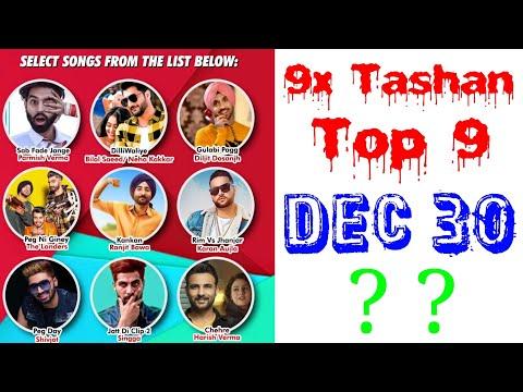 9x Tashan Top 9 of This Week- December 30, 2018 | Latest Punjabi Songs 2018 |
