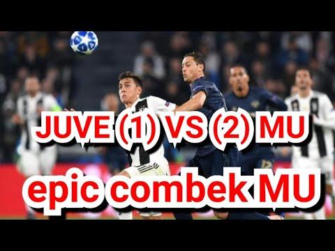 juventus vs mu highlights ( 1 - 2) epic combek MU