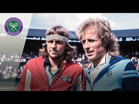 Bjorn Borg v Vitas Gerulaitis: Wimbledon Semi-final 1977 (Extended Highlights)