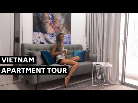 Ho Chi Minh (Saigon) Modern Apartment Tour + Helpful Tips!