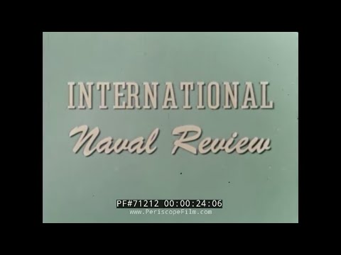 1957 INTERNATIONAL NAVAL REVIEW NORFOLK VIRGINIA 71212