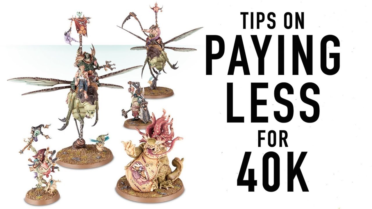Best Place to Buy Warhammer 40K Models for Cheap