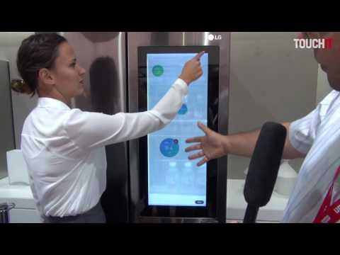 IFA 21016: Chladnička LG s operačným systémom Microsoft Windows