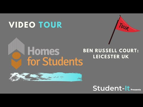 Ben Russell Court Video Tour: Student Accommodation Leicester