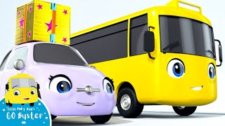 Buster And The Boxes - Go Buster the Yellow Bus | Nursery Rhymes & Cartoons | LBB Kids