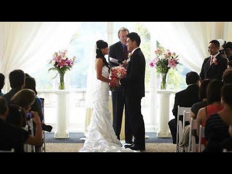 "Funny Wedding Ceremony Entrance ""Bromance"""