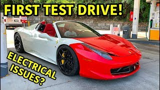 Rebuilding A Wrecked Ferrari 458 Spider Part 8