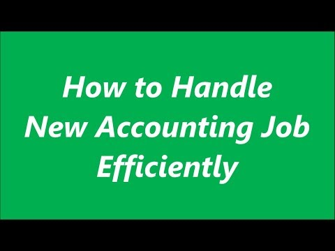How To Handle New Accounting Job   Roles And Responsibilities Of Accountant