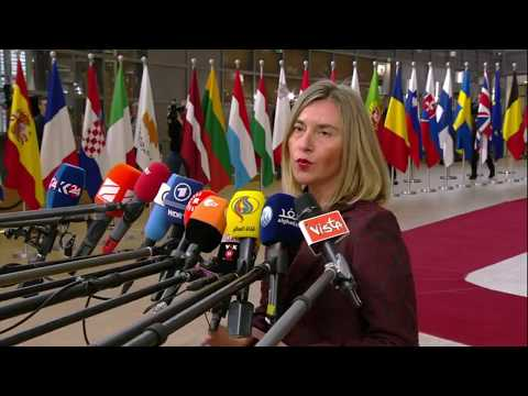 #Trade: 'The European Council strong message on trade' Mogherini