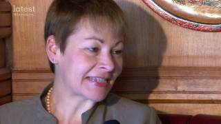 TheLatest.TV-  Special with Caroline Lucas MP, the leader of Green Party UK.