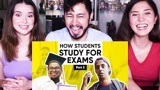 JORDINDIAN   HOW STUDENTS STUDY FOR EXAMS - PART 2   Reaction!