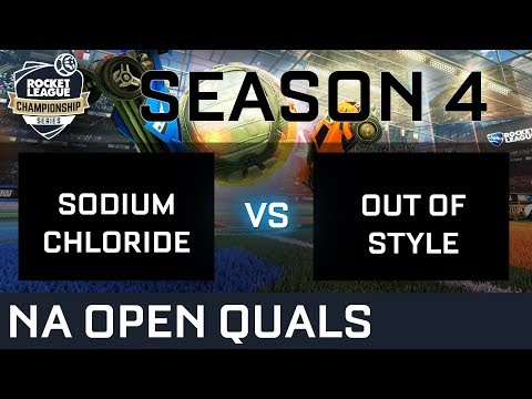 SODIUM CHLORIDE vs OUT OF STYLE NA Open Qualifiers - RLCS S4