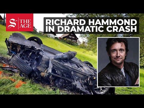 Richard Hammond Of Top Gear In Dramatic Crash