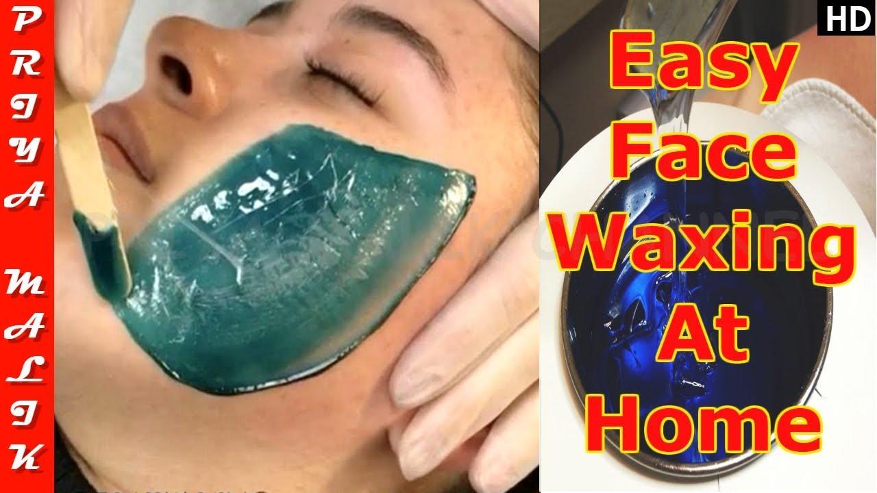 Face Waxing - LIVE DEMO | Remove Facial Hair Easily At Home | Priya Malik