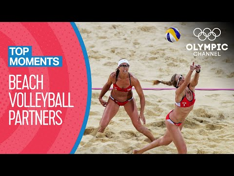 Top 10 Beach Volleyball Duos at the Olympics | Top Moments
