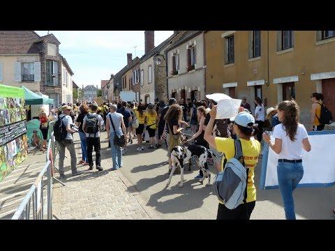 Manifestation Unitaire 2016 contre la vivisection à Mézilles (Yonne)