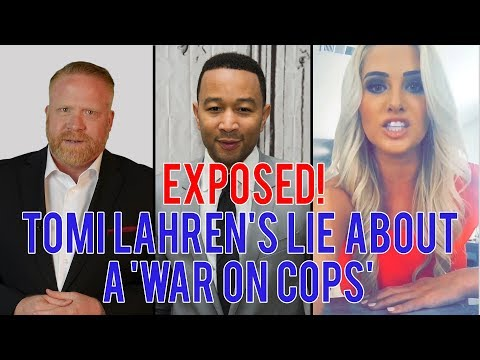 EXPOSED!!! Tomi Lahren's LIE About a 'War on Cops' (cc: @JohnLegend)