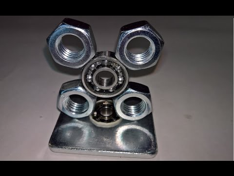DIY Fidget Toy   Hand Spinner Model 3&4 Fidget Spinner   Easy Hardware Store Items Simple and Easy