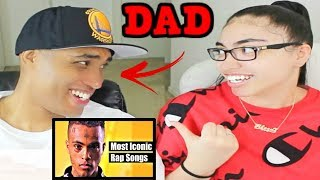 My Dad Reacts To Most Iconic Rap Songs Of The Last 10 Years 2008 2018 Reaction