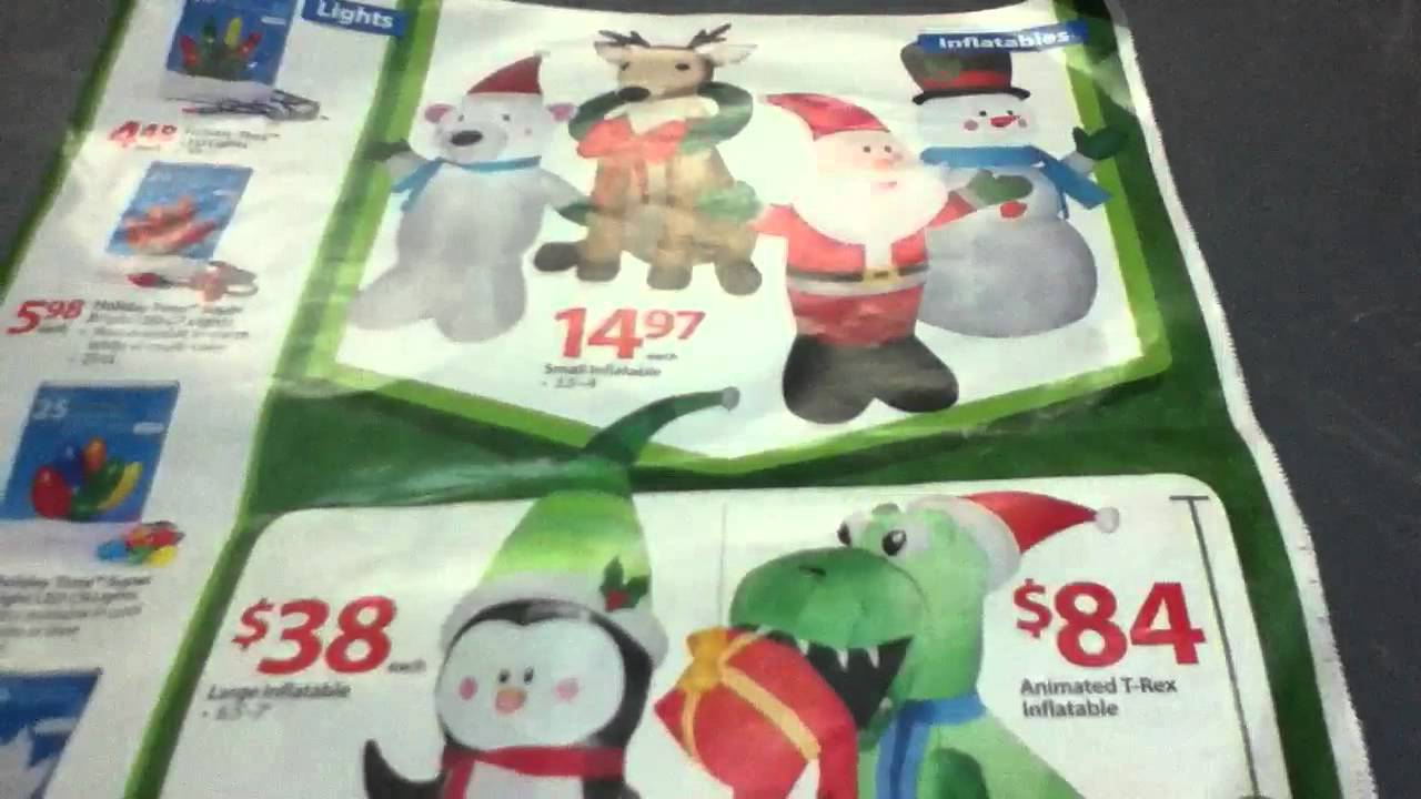 walmart christmas inflatables i might get - Christmas Inflatables At Walmart