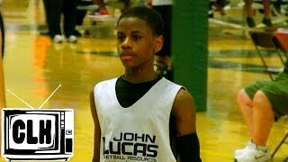 Chase Adams is UNBELIEVABLE at John Lucas Camp 2014 - Class of 2018 Basketball