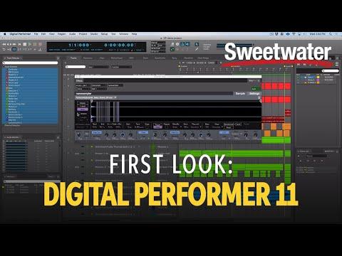 First Look: MOTU Digital Performer 11