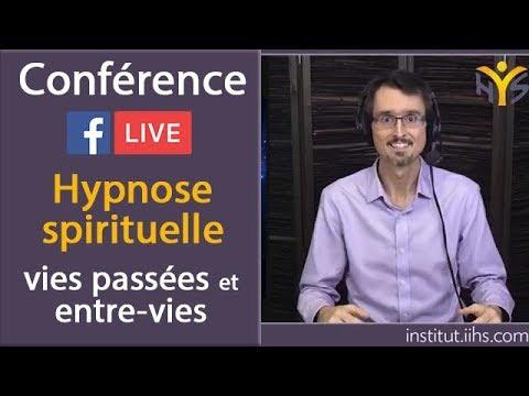 Conférence LIVE - Hypnose spirituelle de régression