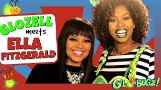 GloZell Meets Ella Fitzgerald X ft. Shanice Wilson | Black History Month | GloZell & the GloBugz