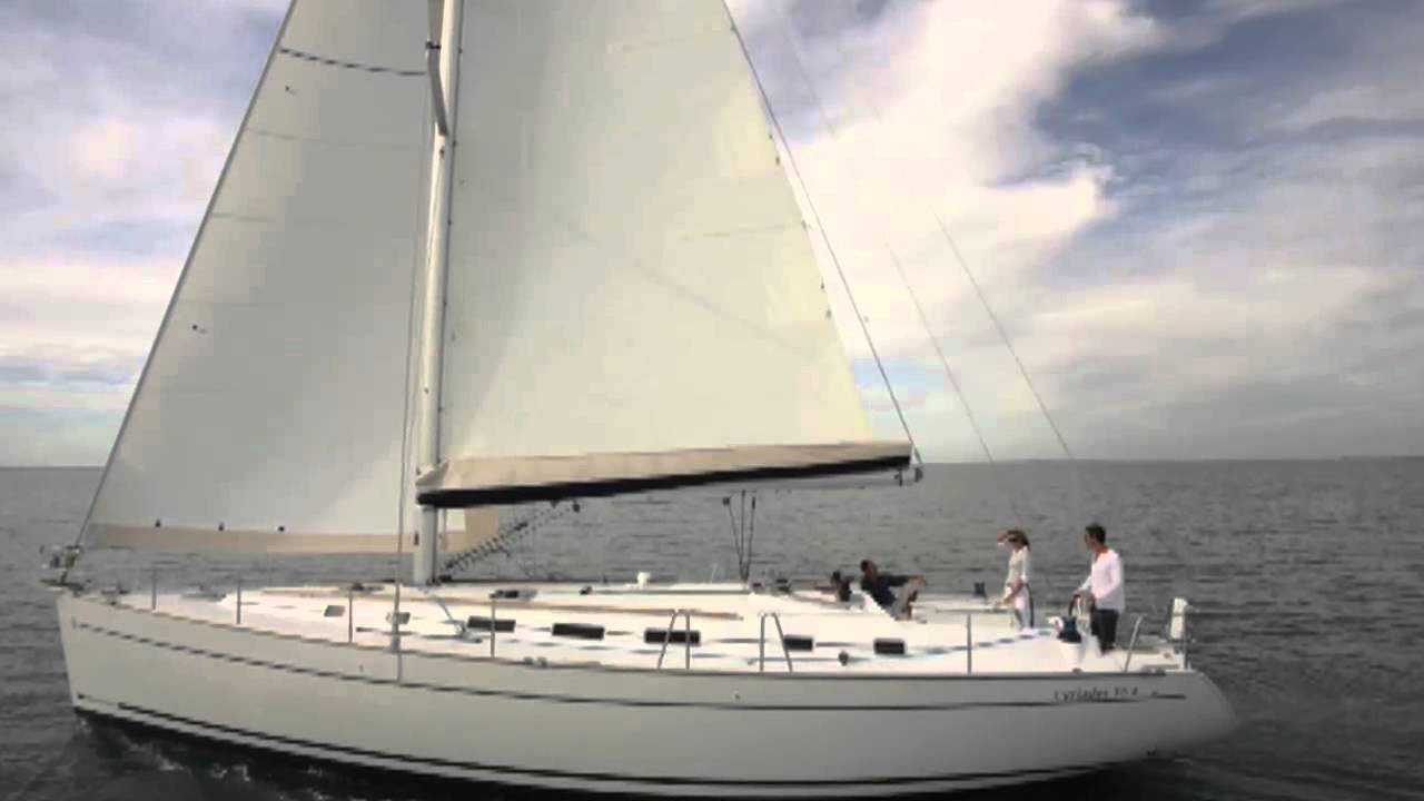 Sailing Yacht Charter On Bareboat Beneteau Cyclades 505 From Phuket In Thailand YouTube