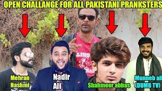 outdoor barber | challenge | lahorified| mehran hashmi | dumb prank | shahmeer Abbas | nadir ali