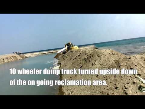 Compostela Cebu   Seafront BBQ Station, Tuslob Buwa, Tapsilogan+Dump Truck Turned Upside Down