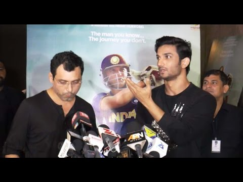 Sushant Singh Rajput reacts on Gautam Gambhir's statement; Watch Video | Filmibeat