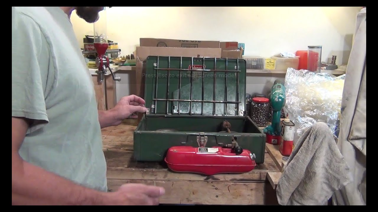 Fixing a 1983 Coleman 425F stove