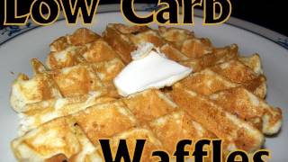 Atkins Diet Recipes: Low Carb Waffles (e-if)