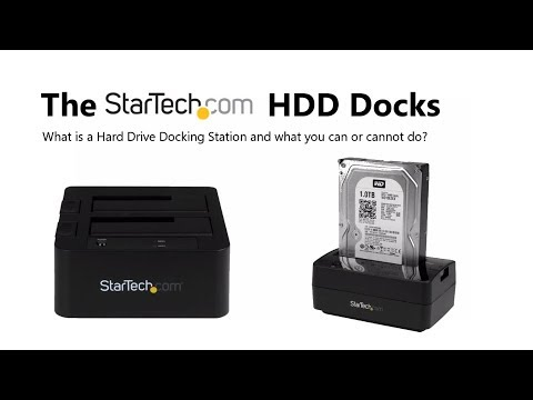 The StarTech Hard Drive Docking Station Range Explained
