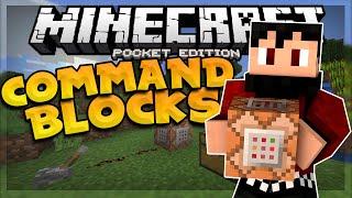 COMMAND BLOCKS in MCPE!!! - 0.14.0 Command (Blocks) Mod - Minecraft PE (Pocket Edition)
