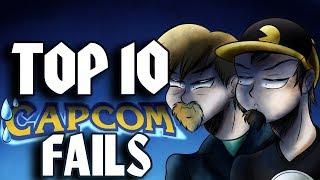 Top Ten Capcom Fails ft. TheQuarterGuy
