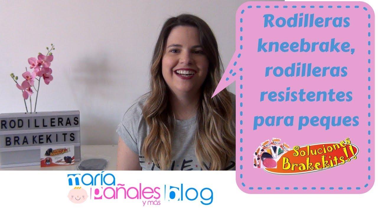 Rodilleras kneebrake, rodilleras más resistentes para peques | María Pañales y Más