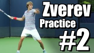 Alexander Zverev | Forehand and Backhand #2 | Western & Southern Open 2014