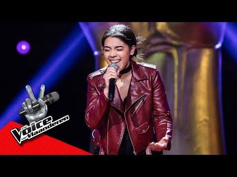 Jessica zingt 'Man Down' | Blind Audition | The Voice van Vlaanderen | VTM
