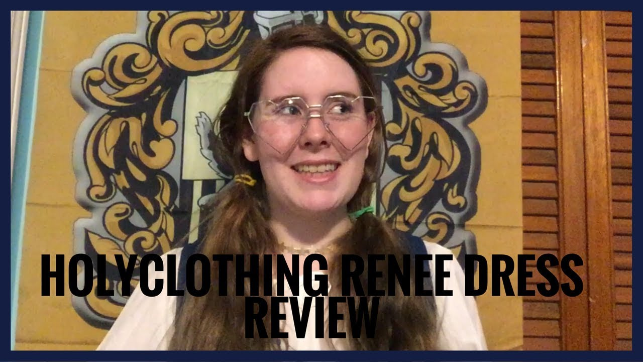 997b3321a00 Holy Clothing Renee Dress Review - YouTube